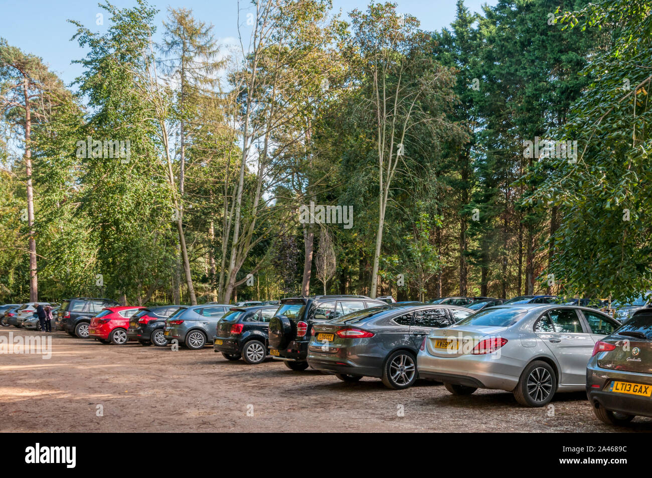 Free Car Parking At Sandringham Country Park On The Royal Estate At Sandringham In Norfolk Is To End In February 2020 Stock Photo Alamy