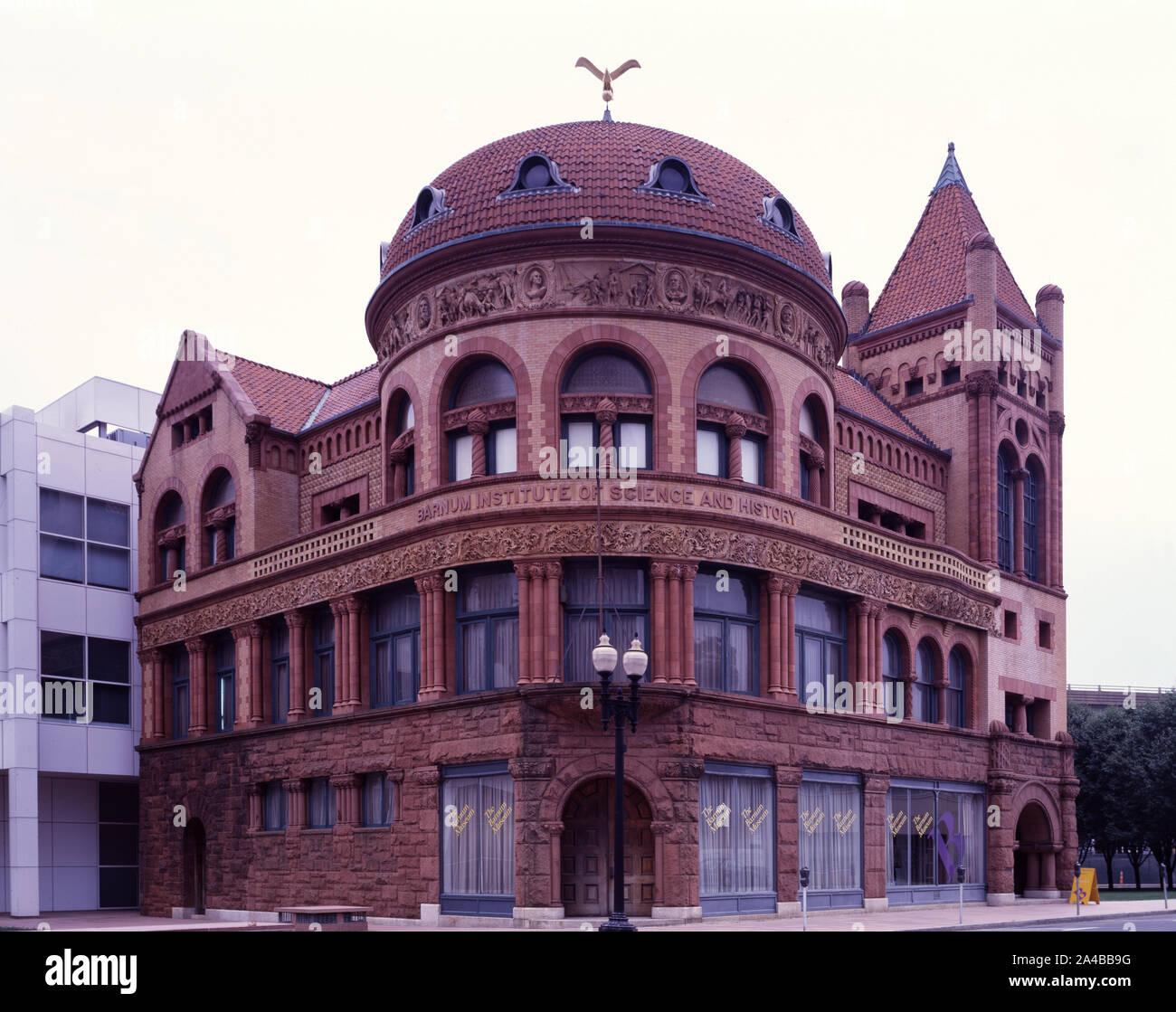 The Barnum Museum, Bridgeport, Connecticut Stock Photo