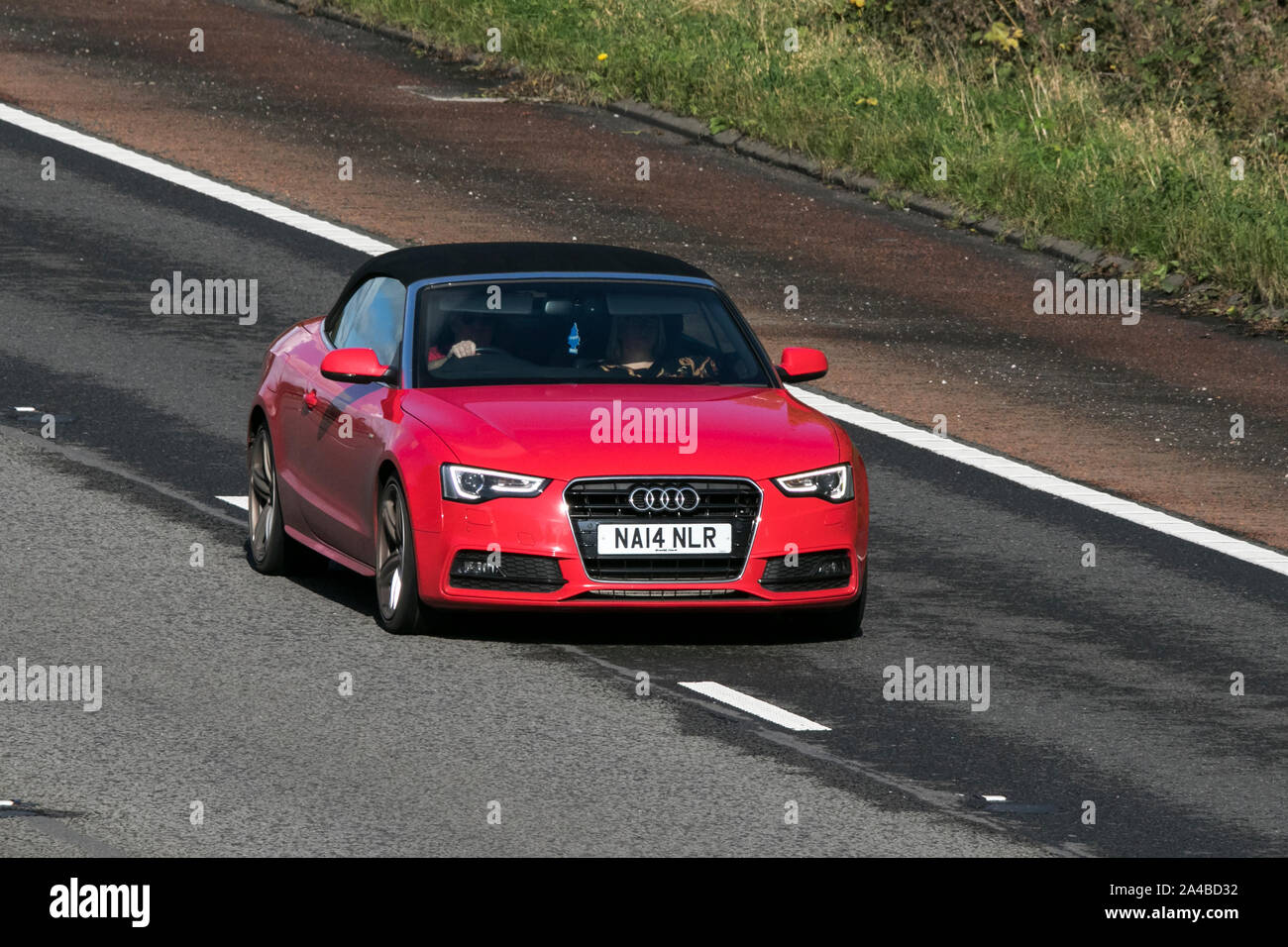Audi A5 Convertible High Resolution Stock Photography And Images Alamy