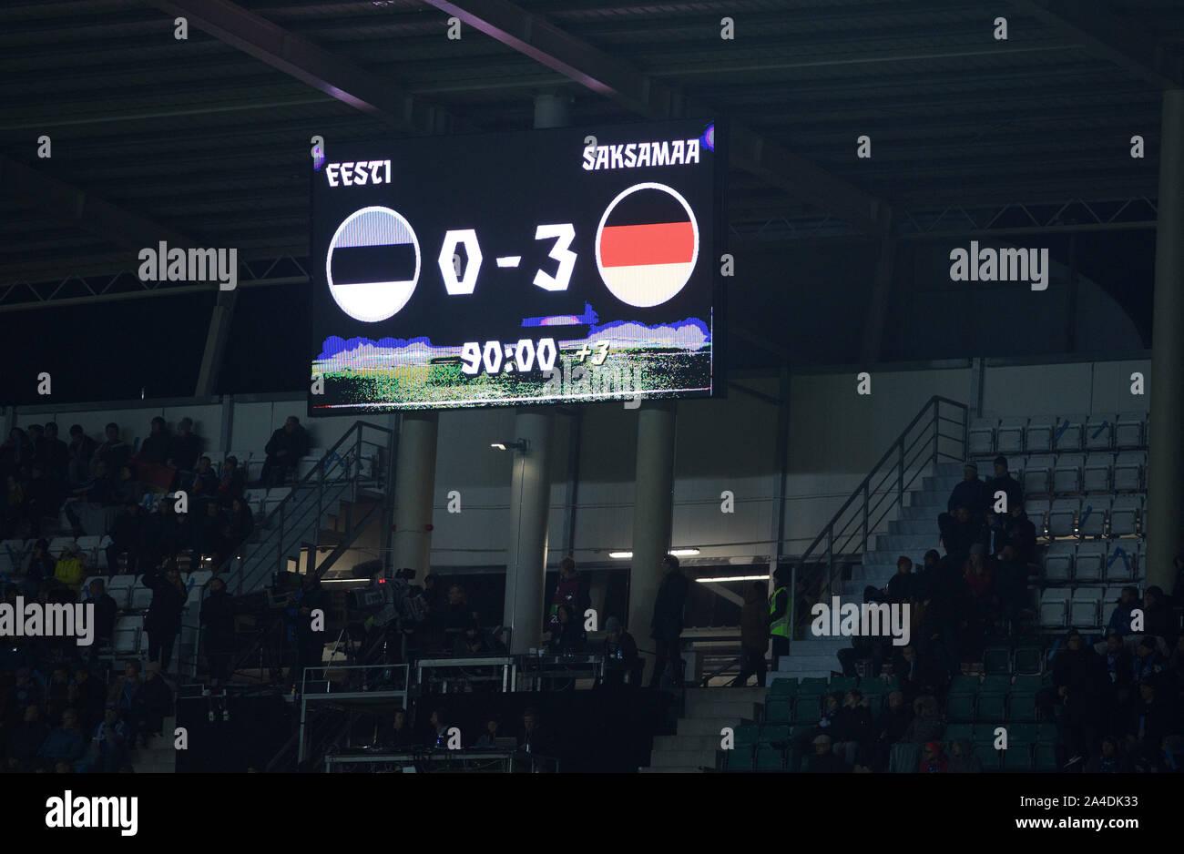Championship Soccer Scoreboard High Resolution Stock Photography