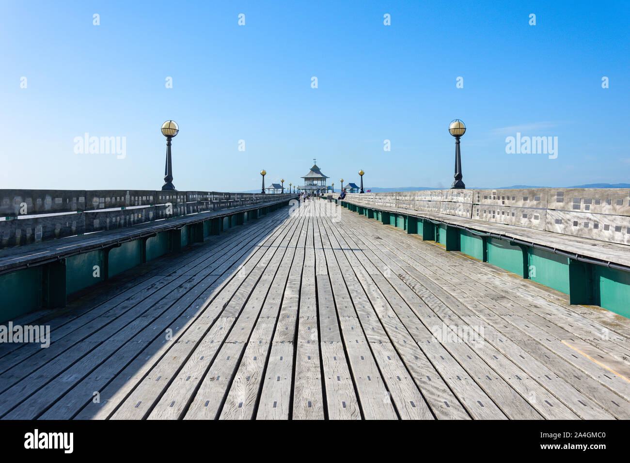Clevedon Pier, Clevedon, Somerset, England, United Kingdom Stock Photo
