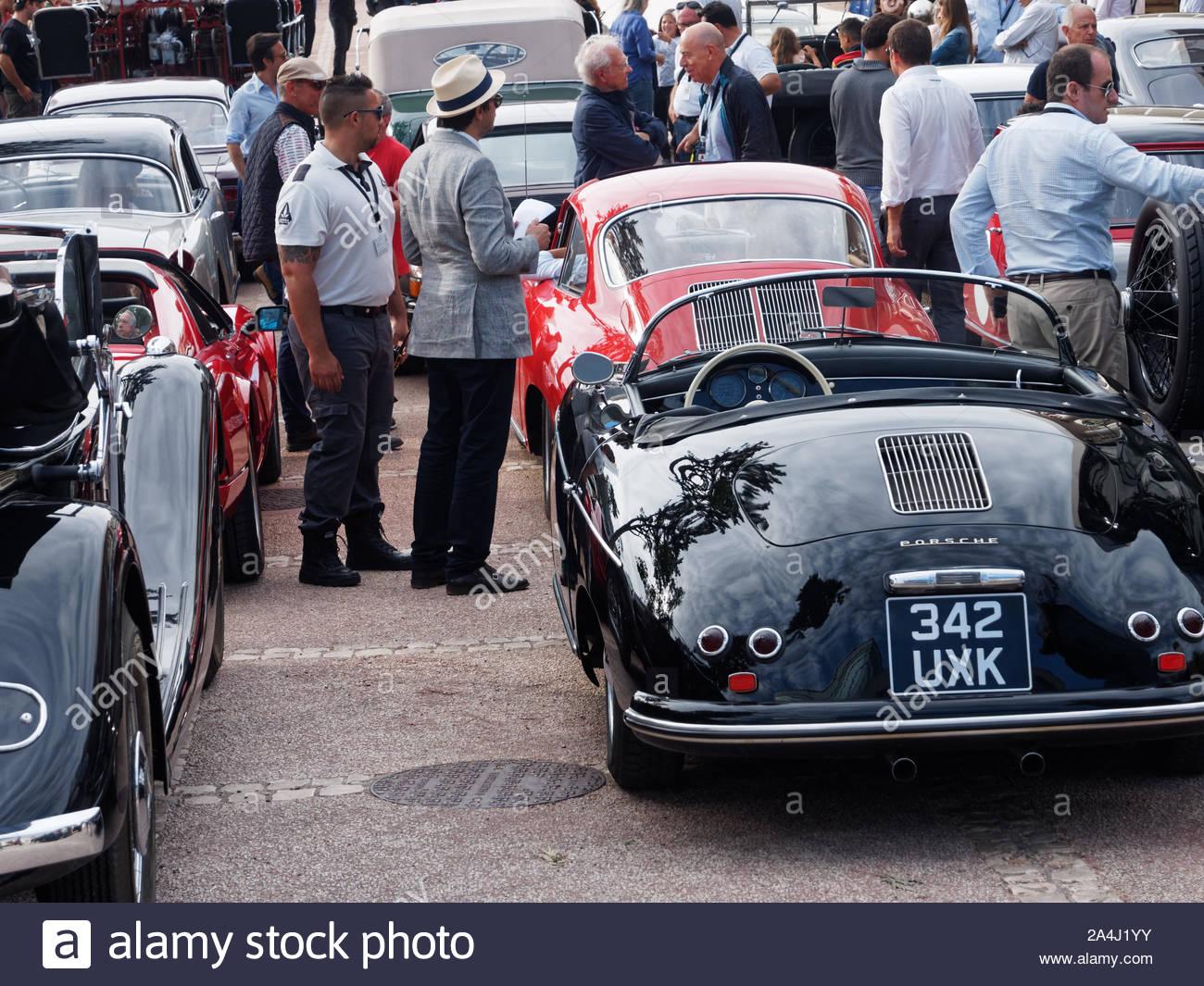 Classic Porsche Speedster And Porsche 356 Estoril Classic Car Show Portugal Stock Photo Alamy