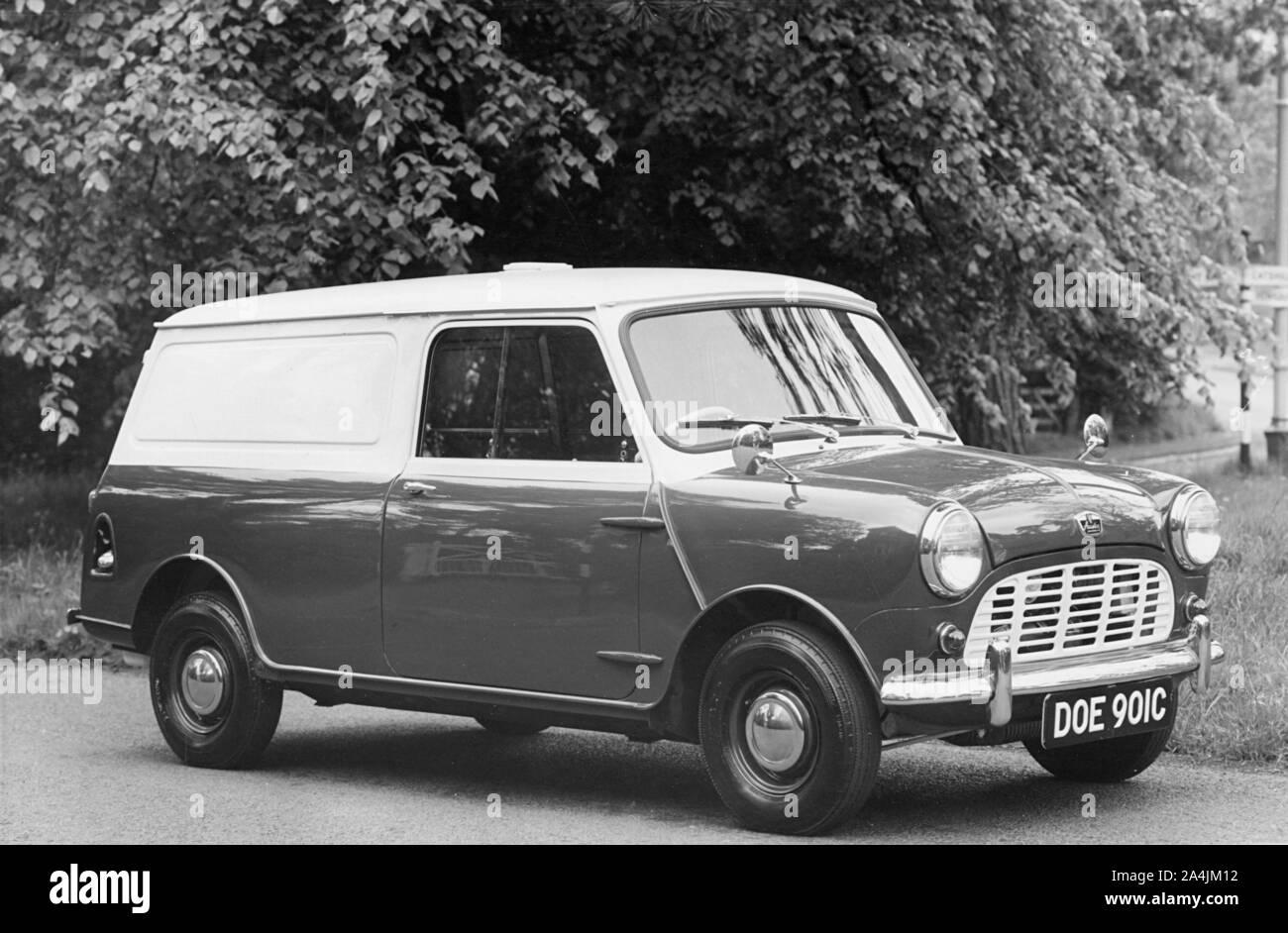 1966 Austin Mini van 1.25 ton. Stock Photo