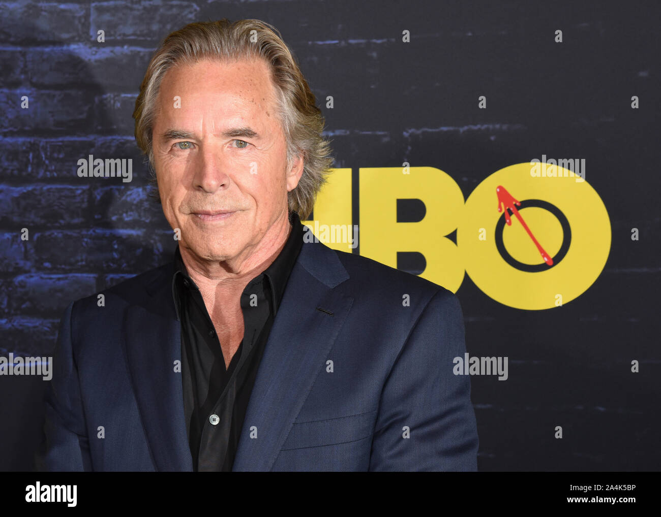 October 14, 2019, Hollywood, California, USA: Don Johnson attends the HBO Series Premiere of the Watchmen. (Credit Image: © Billy Bennight/ZUMA Wire) Stock Photo