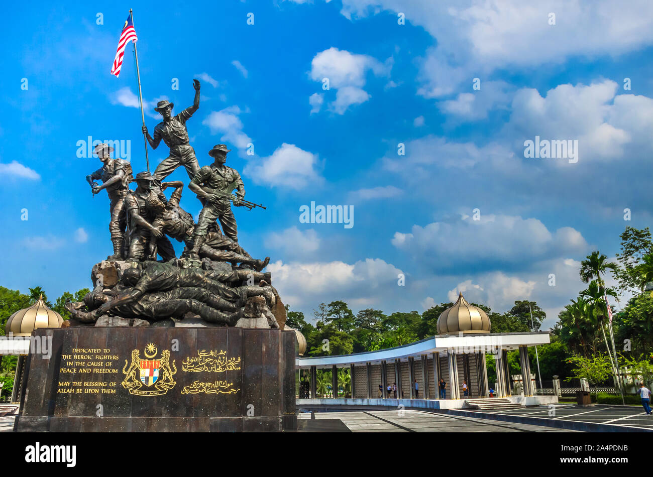 tugu high resolution stock photography and images alamy https www alamy com kuala lampur malaysia december 18 2018 royal malaysias national monument also known as tugu negara it is located in the capital kuala lumpur image329949351 html