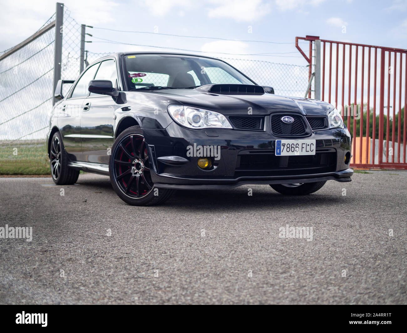 Subaru Impreza Wrx Turbo High Resolution Stock Photography And Images Alamy