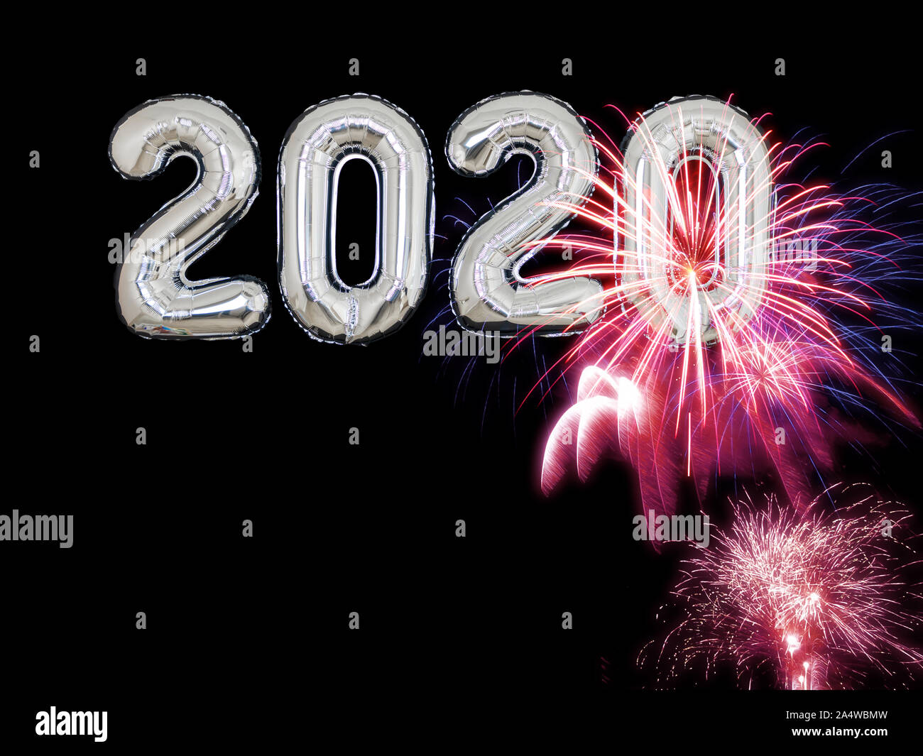 Happy New Year 2020 High Resolution Stock Photography And Images Alamy