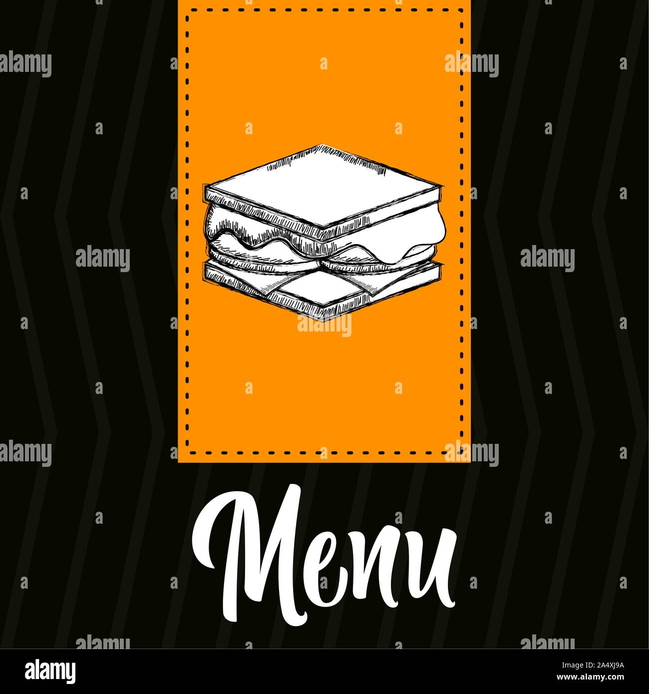 Food Drinks And Desserts Menu Restaurant Menu Design Vector Illustration Stock Vector Image Art Alamy