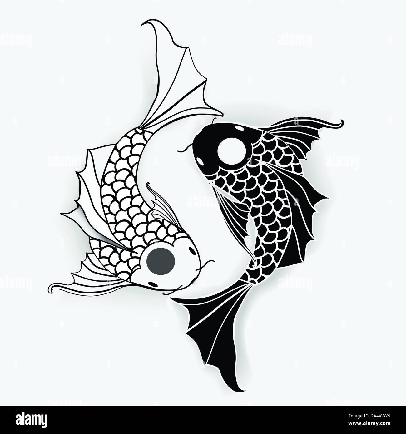 29+ Fish Yin Yang Icon PNG
