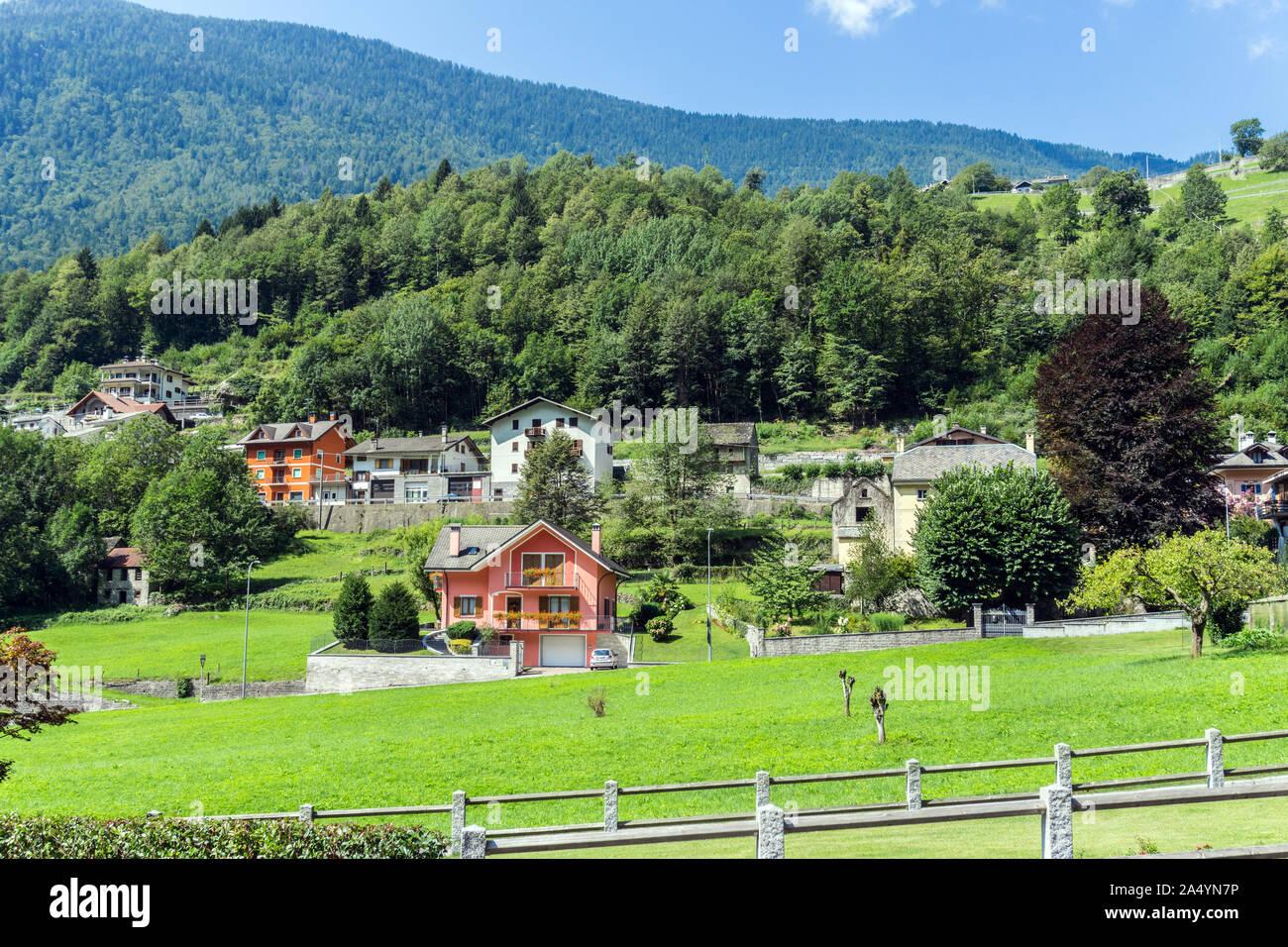 Italy, Piedmont, Crodo Stock Photo