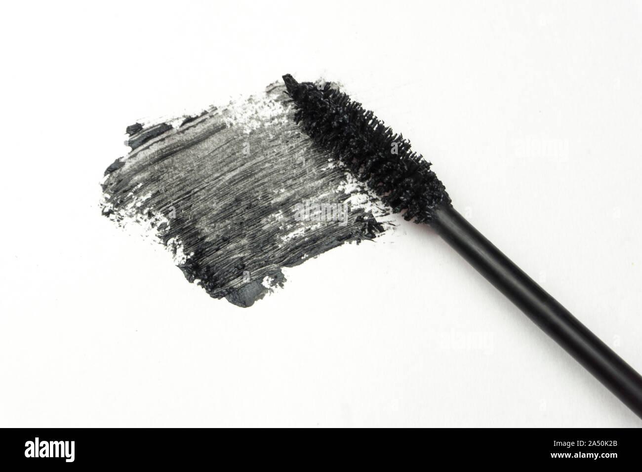 mascara product shot whtie background Stock Photo