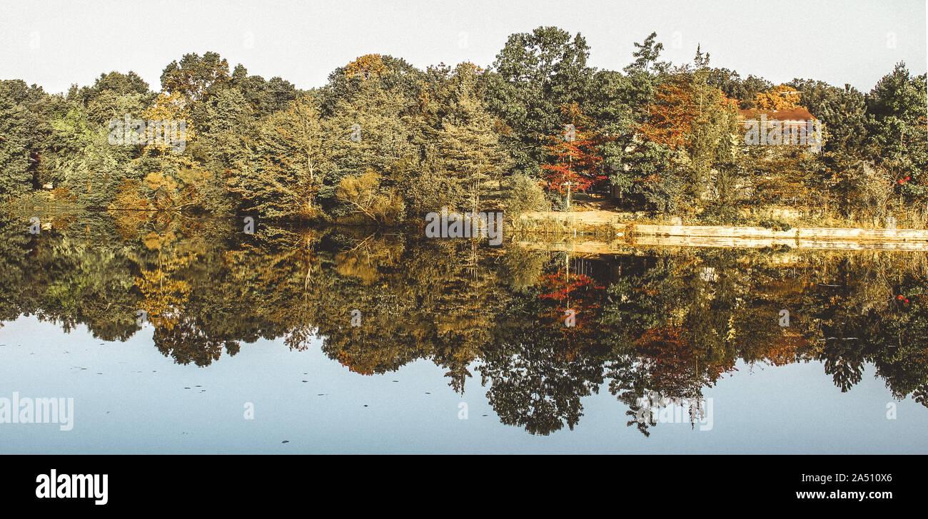 Simple Landscape Photo Stock Photo