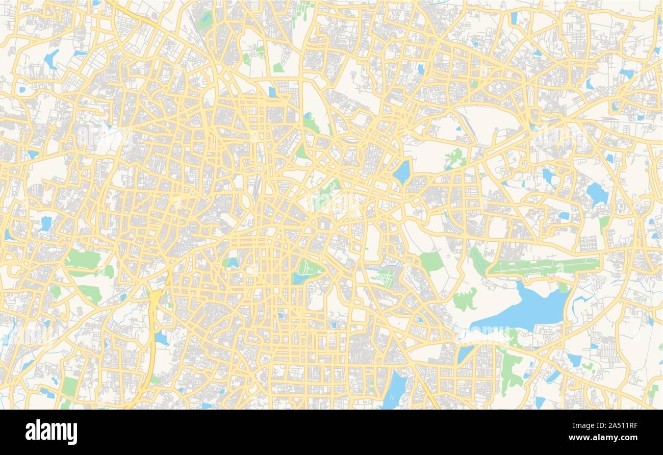 Karnataka Map Stock Photos & Karnataka Map Stock Images - Alamy on gujarat state india map, bellary karnataka india map, bihar state india map,