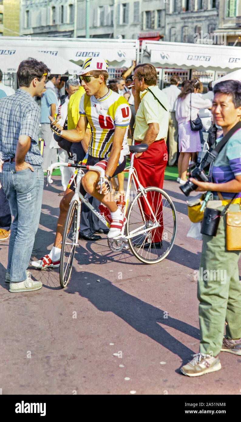 Laurent Fignon High Resolution Stock Photography And Images Alamy