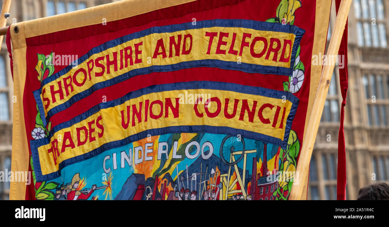 Trades Union Banners High Resolution Stock Photography And Images Alamy