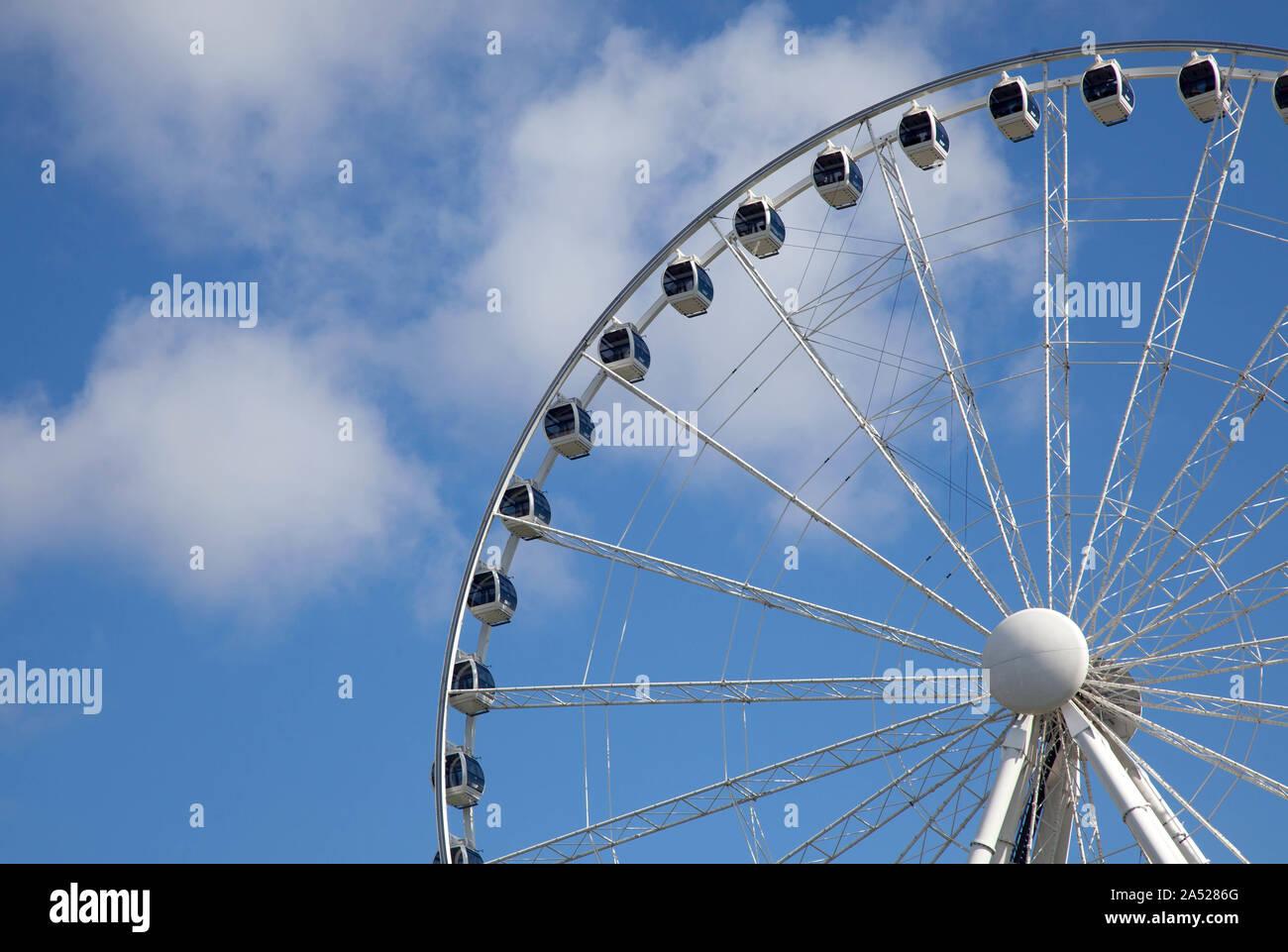 The Liseberg Wheel (formerly the Gothenburg Wheel) is a Ferris wheel at Liseberg in Gothenburg.Photo Jeppe Gustafsson Stock Photo