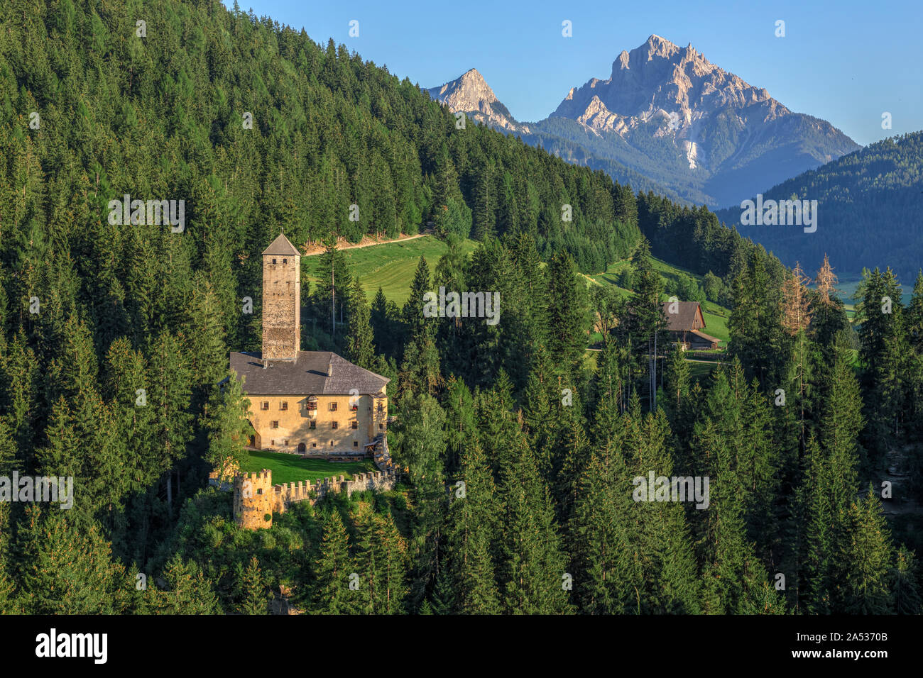 Welsperg Castle, South Tyrol, Italy, Europe Stock Photo