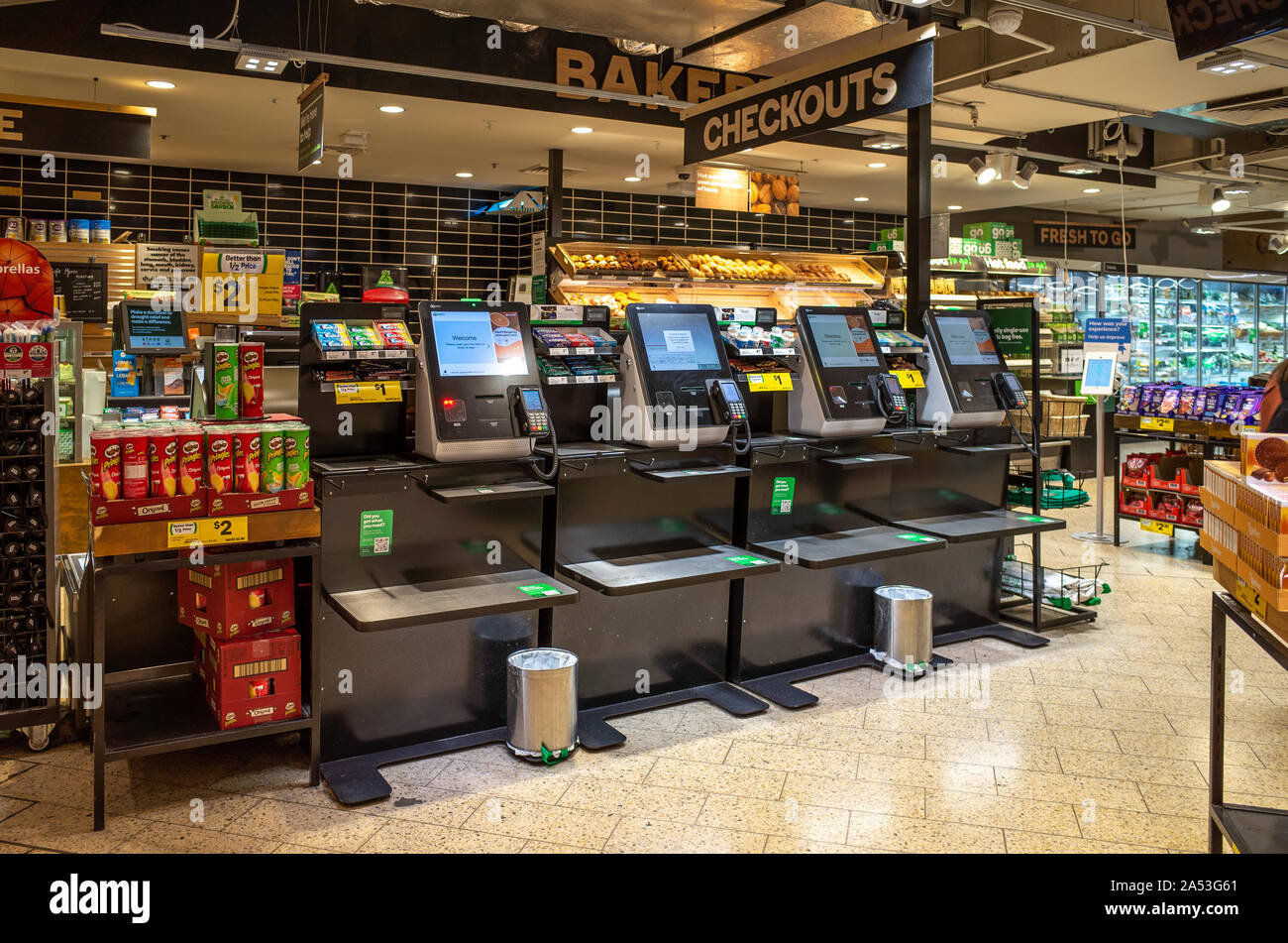Self Check Out Supermarket High Resolution Stock Photography And Images Alamy