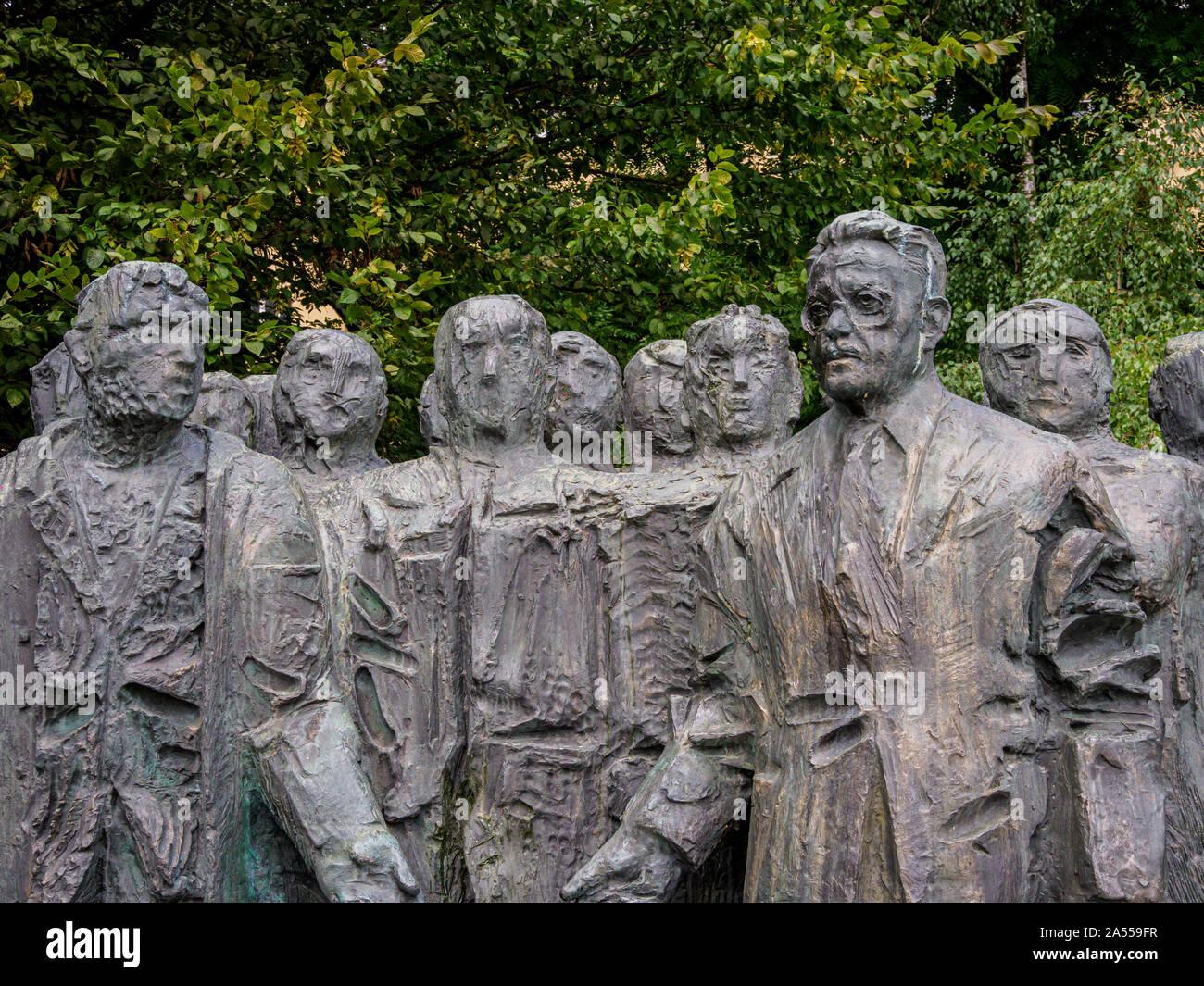 Spomenik Edvardu Kardelju Stock Photos Spomenik Edvardu Kardelju
