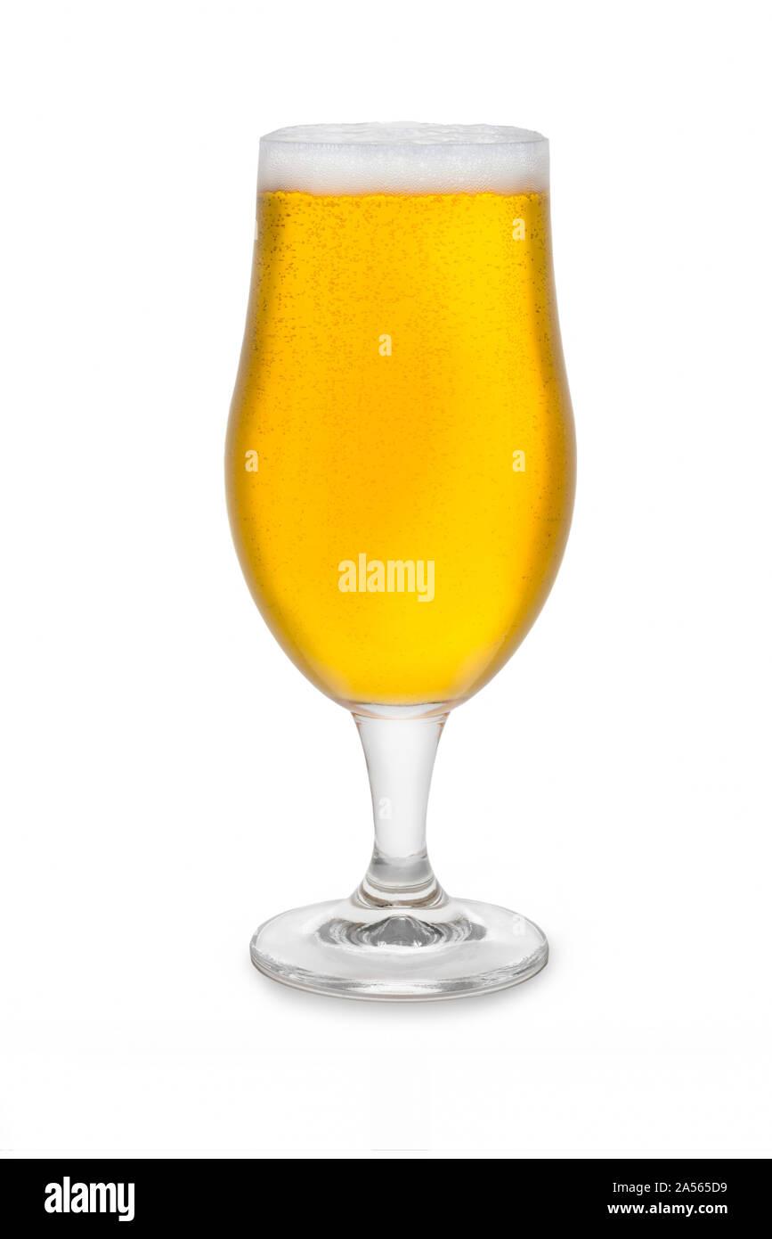 Full Belgium Ale #1. Stock Photo