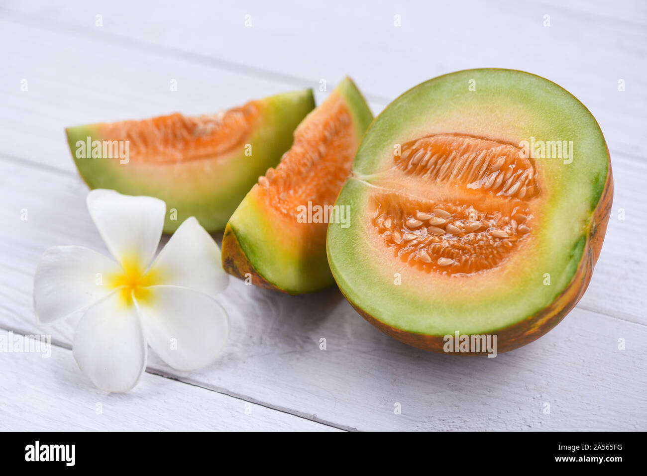 Sliced Cantaloupe Thai Tropical Fruit Asian And Flower On Wooden Background Cantaloupe Melon Muskmelon Cucurbitaceae Stock Photo Alamy The cantaloupe, rockmelon (australia and new zealand), sweet melon, or spanspek (south africa) is a melon that is a variety of the muskmelon species (cucumis melo) from the family cucurbitaceae. https www alamy com sliced cantaloupe thai tropical fruit asian and flower on wooden background cantaloupe melon muskmelon cucurbitaceae image330206340 html