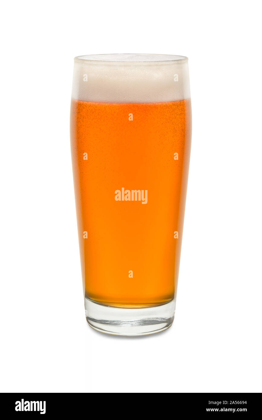Craft Pub Glass with Beer #3. Stock Photo