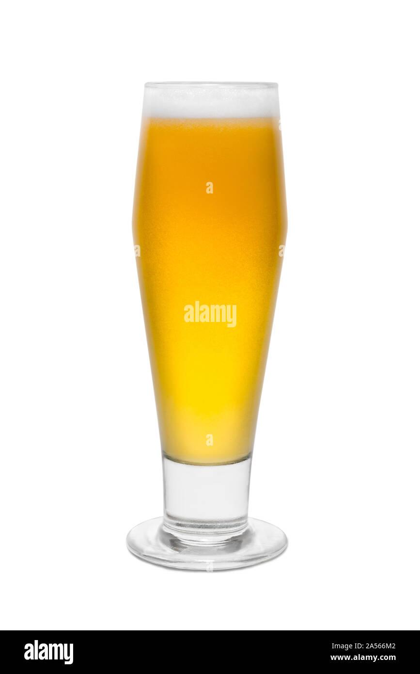 Classic Pilsner Beer, with Foam top #1. Stock Photo