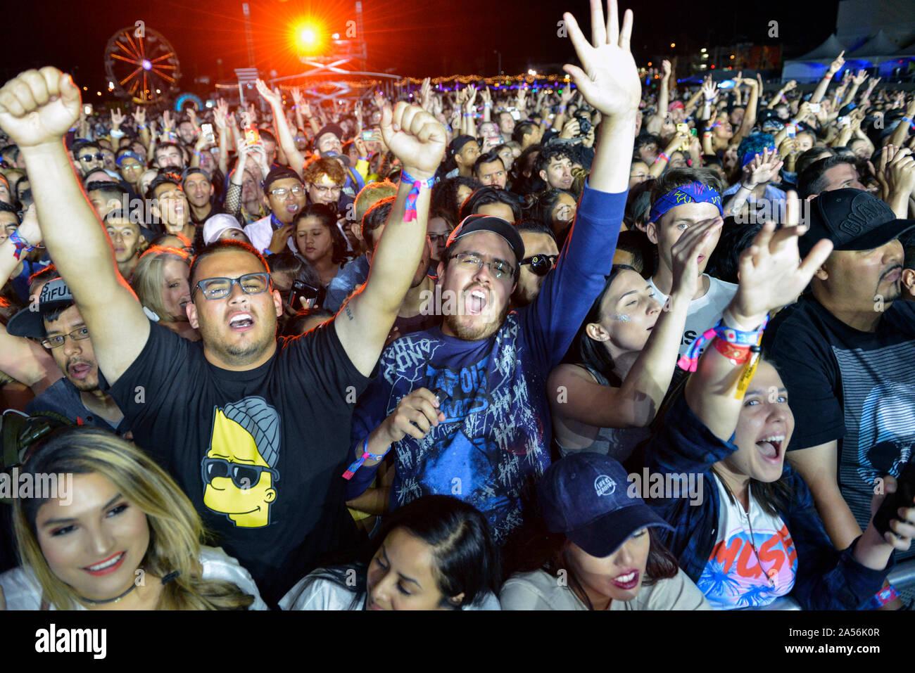 Concert Crowd Shot Stock Photo