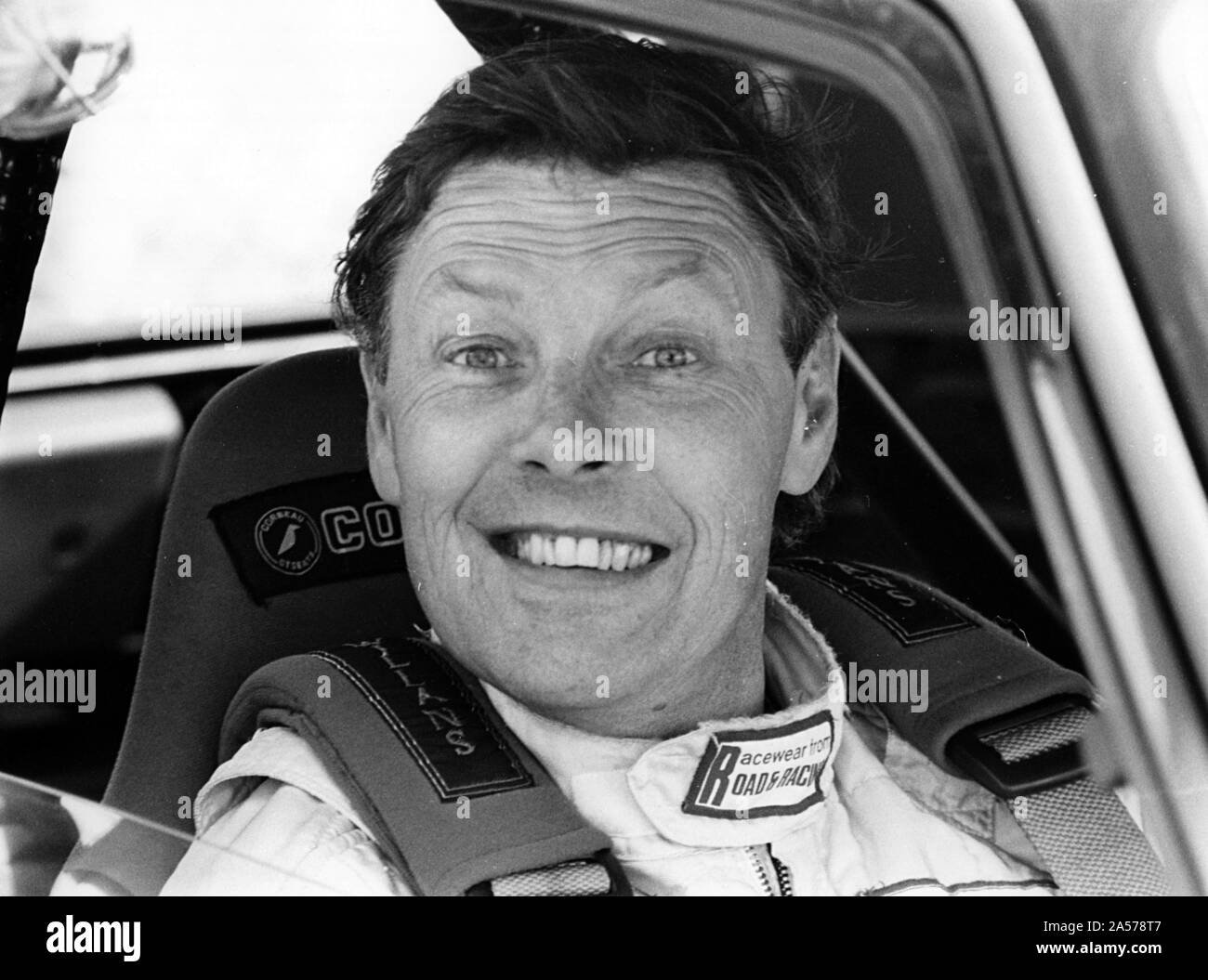 """Barrie """"Whizzo Williams"""" racing driver. Stock Photo"""