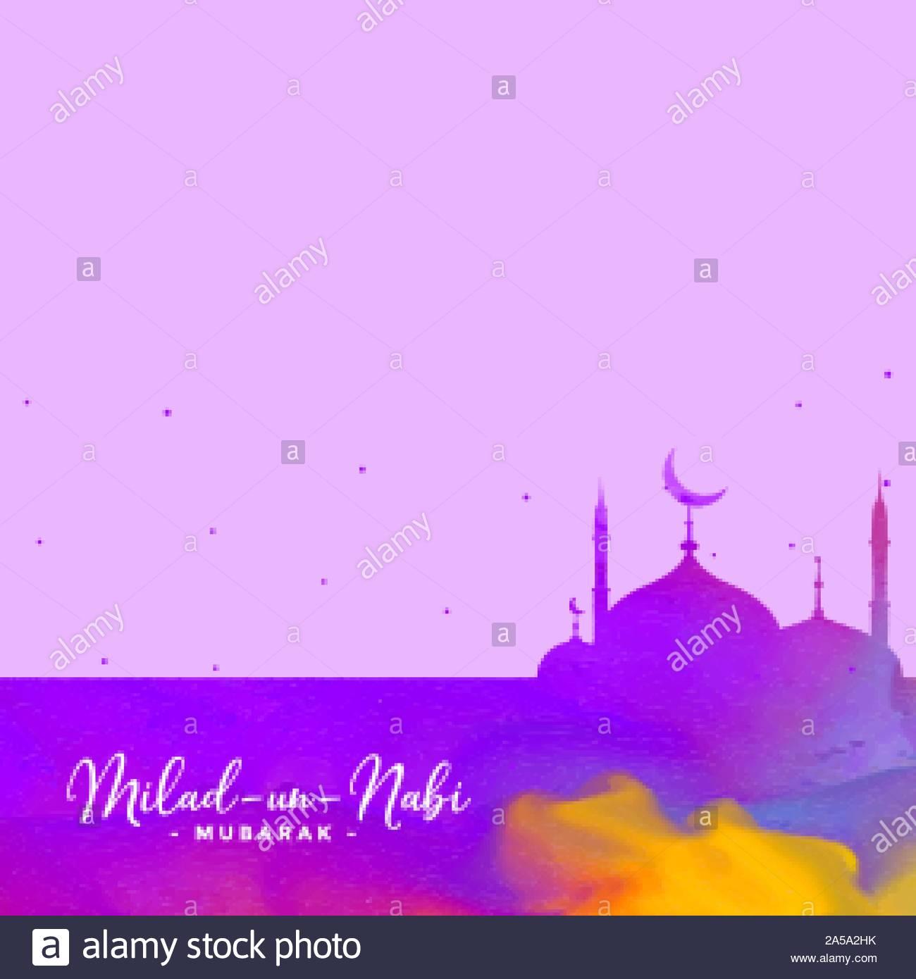eid milad un nabi barawafat holiday background stock vector image art alamy alamy