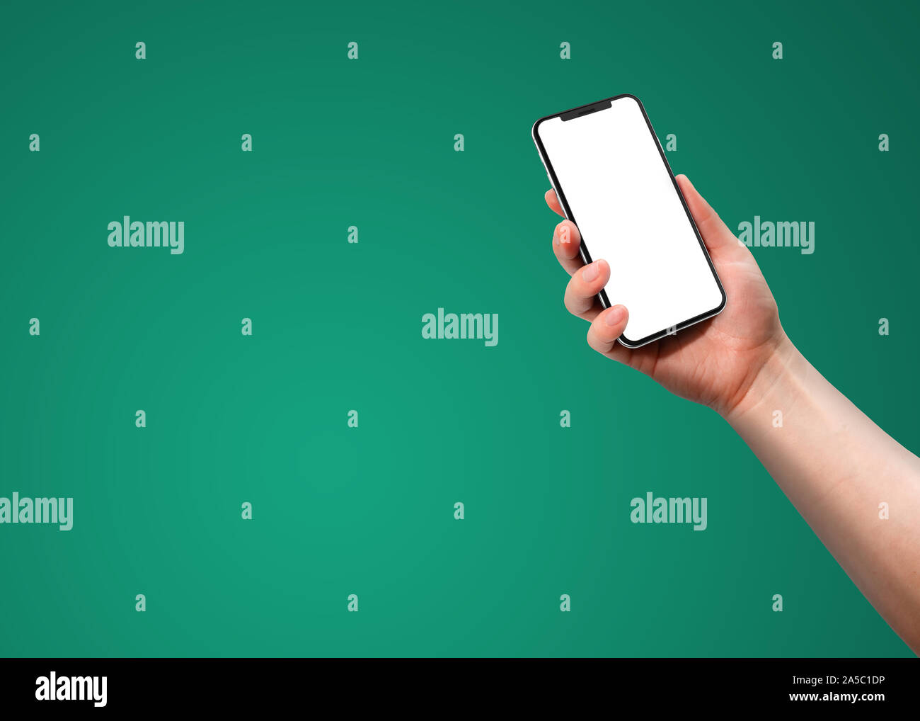 Green Screen Iphone High Resolution Stock Photography And Images Alamy