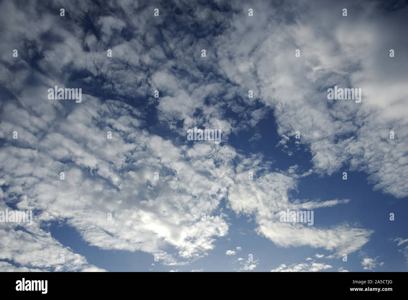 Munnar; Kerala; India; Southeast Asia;; Nov. 2017 : Altocumulus is a middle-altitude clouds Stock Photo