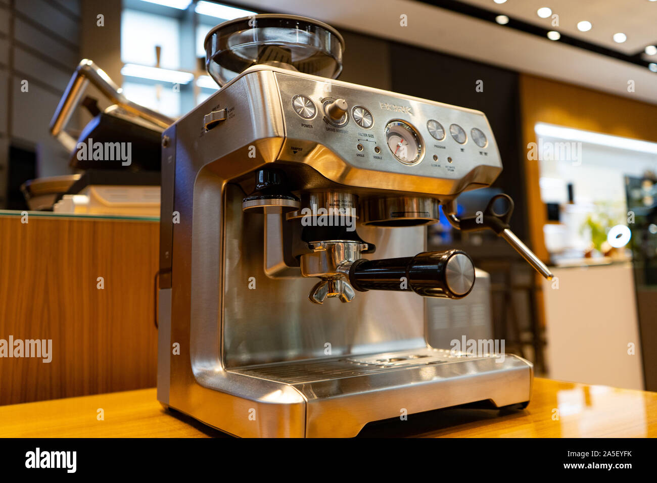 Chelyabinsk Region Russia August 2019 Official Boutique Of Home Appliances Of The German Manufacturer Bork Electronic Gmbh Branded Store Premiu Stock Photo Alamy