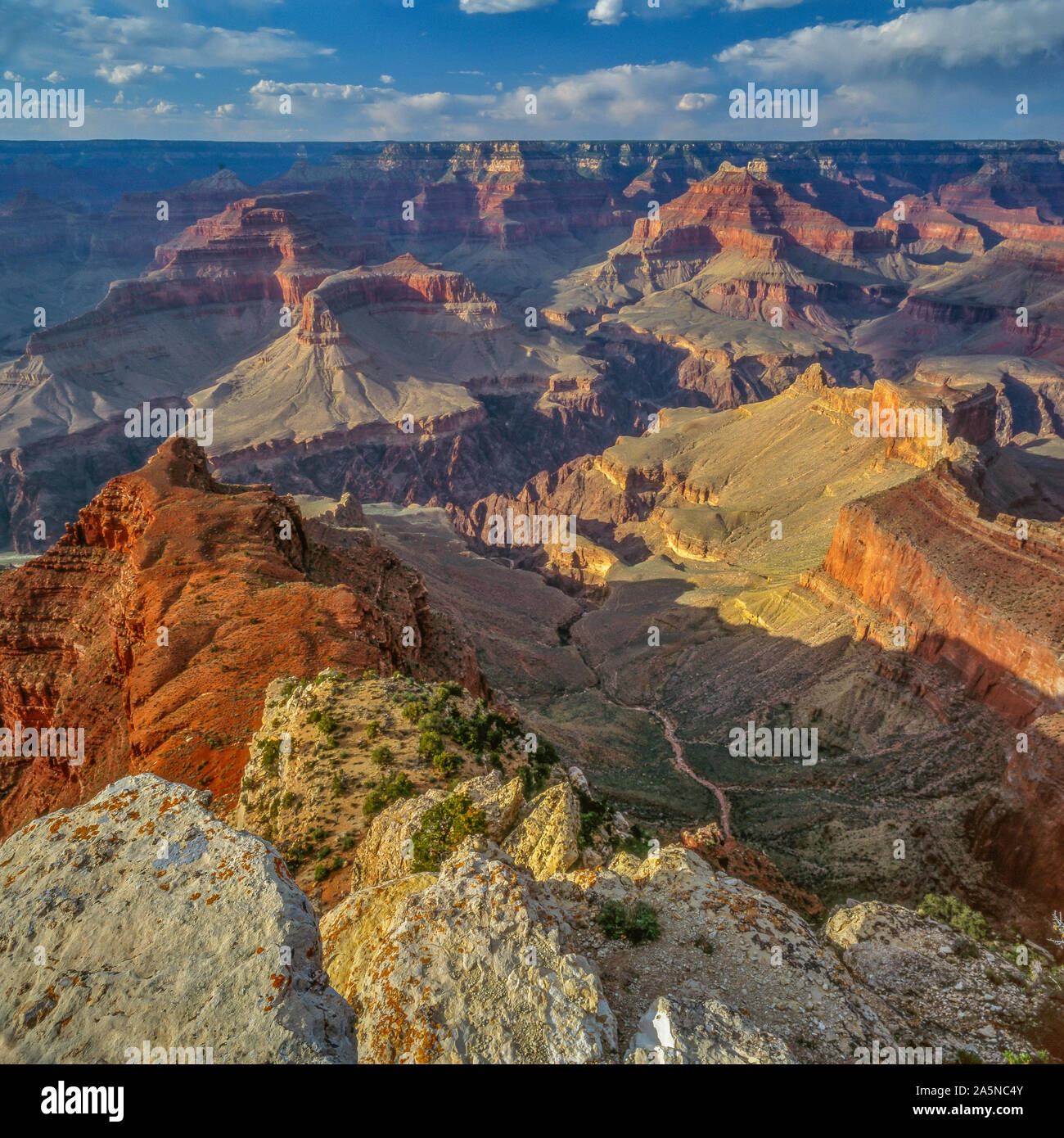 Pima Point South Rim Grand Canyon National Park Arizona