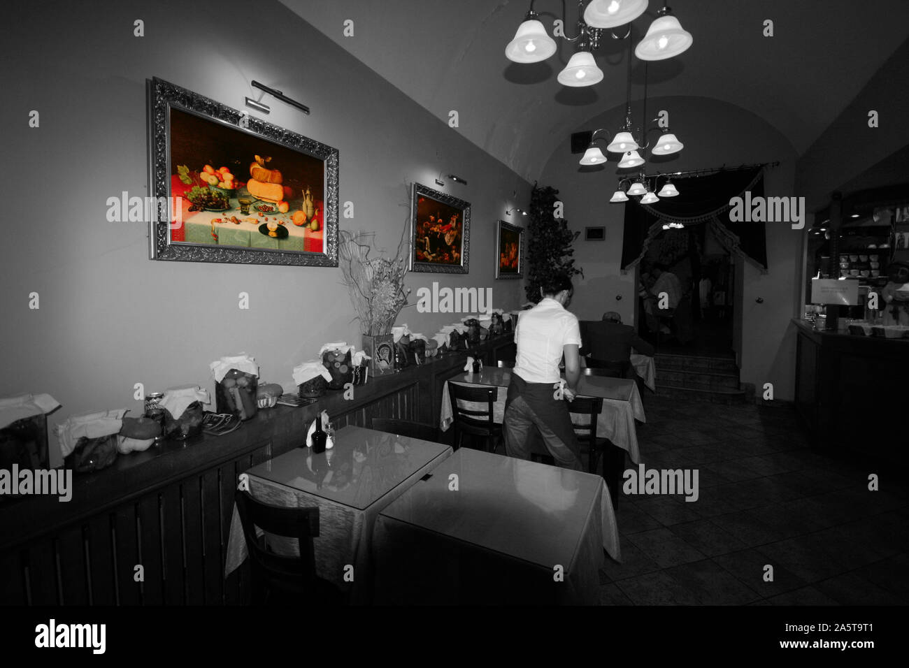 Krakow Diner High Resolution Stock Photography And Images Alamy