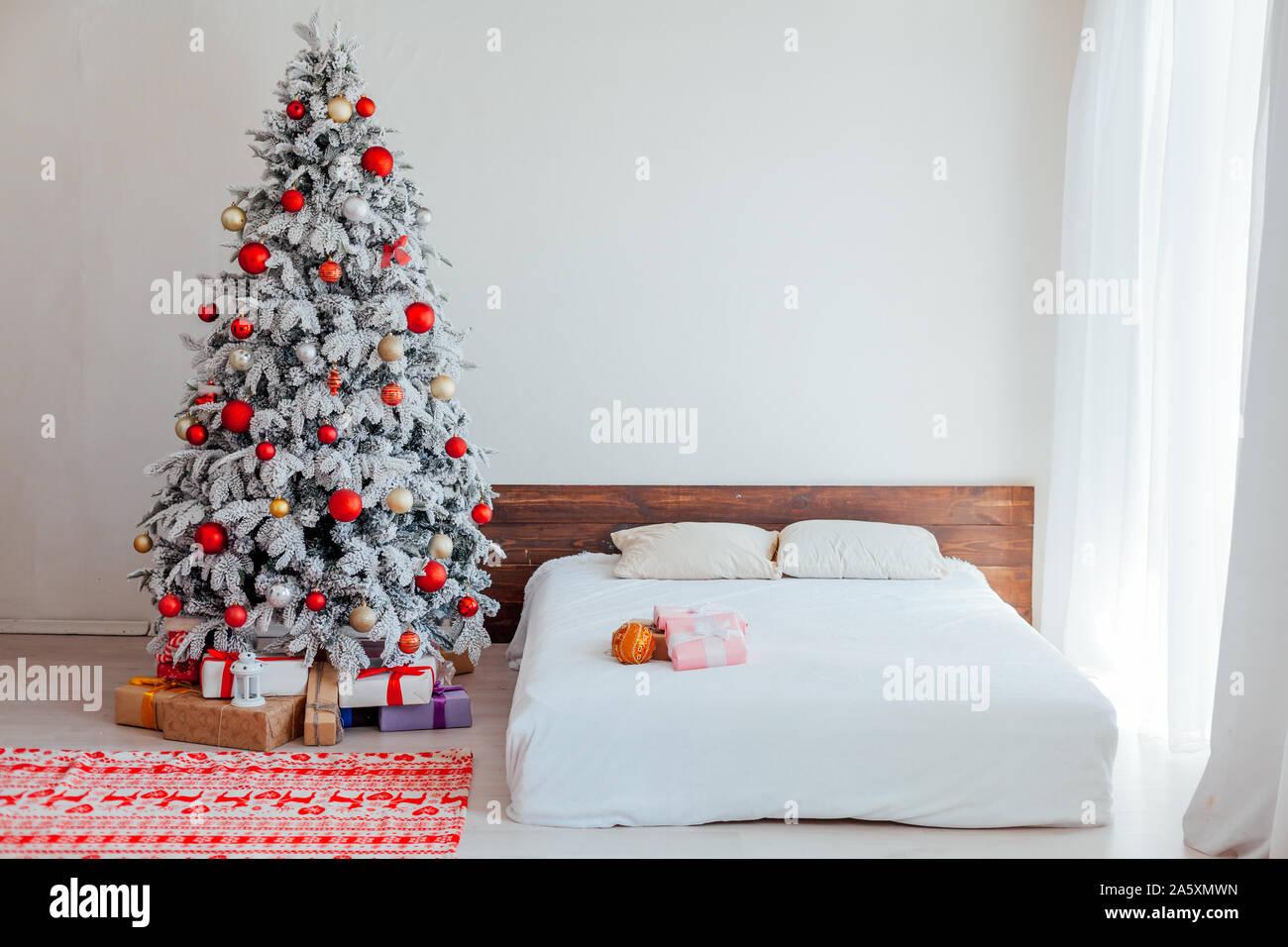 christmas tree lights in bedroom