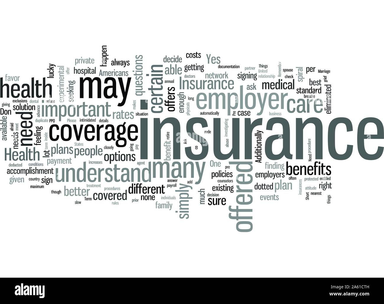 Tedious Yes Necessary Yes Things You Need To Ask About Your Health Insurance Stock Vector