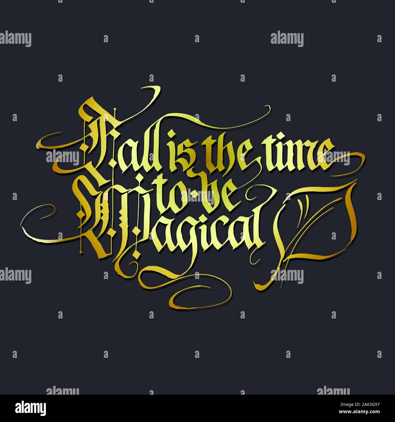 Blackletter Calligraphy High Resolution Stock Photography And Images Alamy
