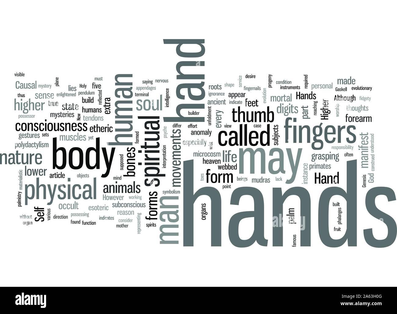 Mudras Hand Symbolism Hand Mysteries Part Stock Vector