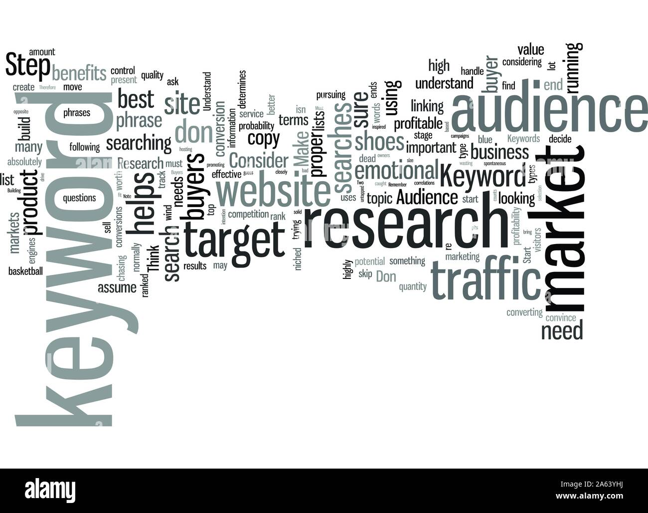 Keyword Research A Necessary But Worthy Evil Stock Vector
