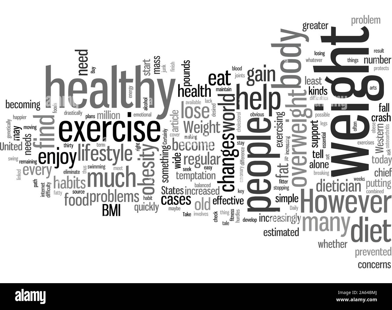 How To Lose Weight The Healthy Way Stock Vector