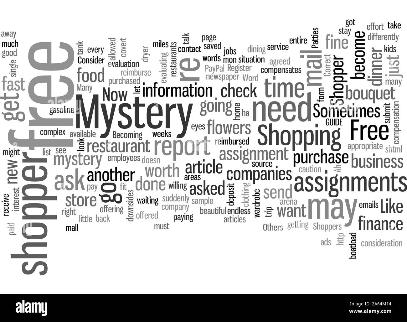 How To Become A Mystery Shopper Stock Vector