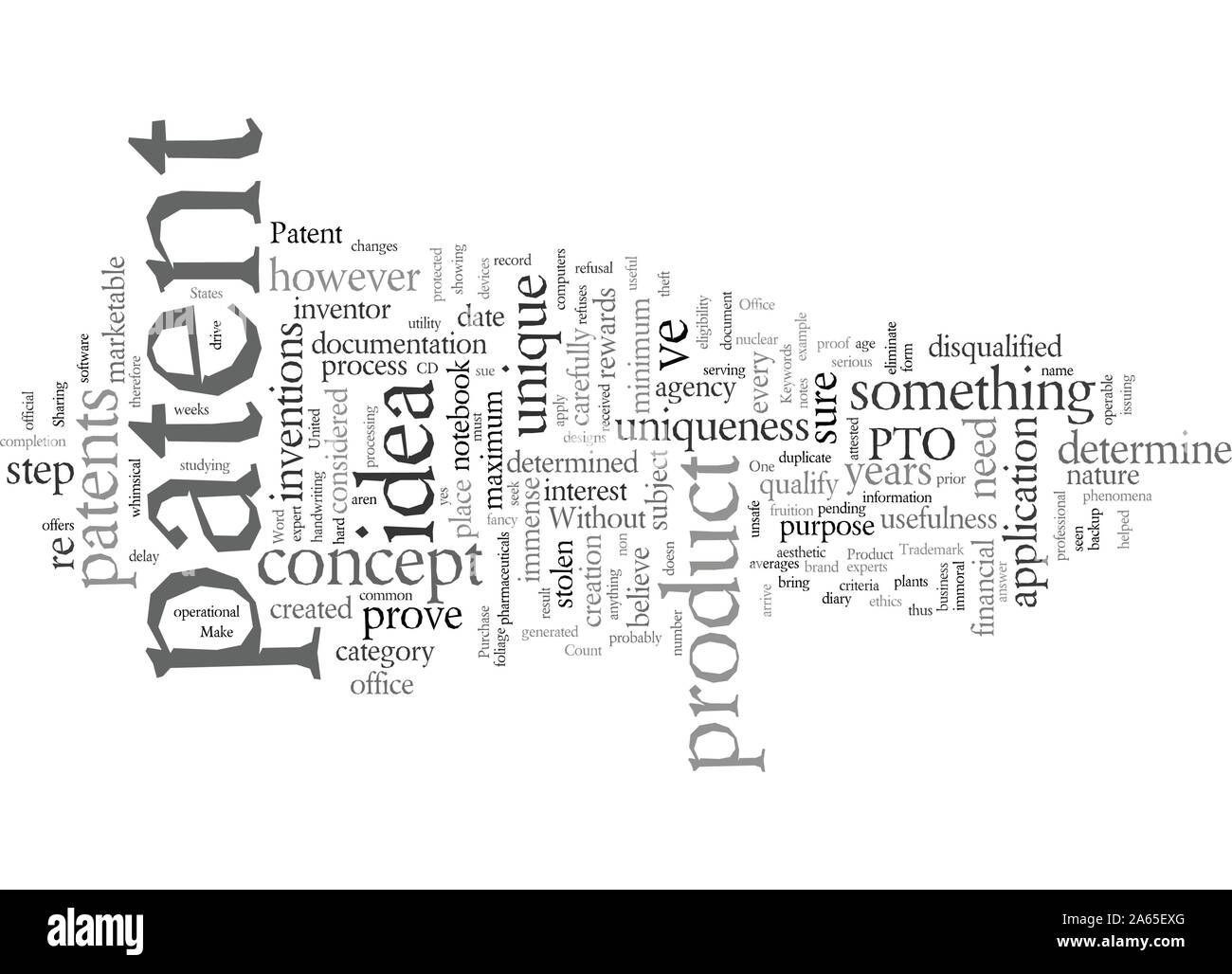 Does Your New Product Qualify For A Patent Stock Vector