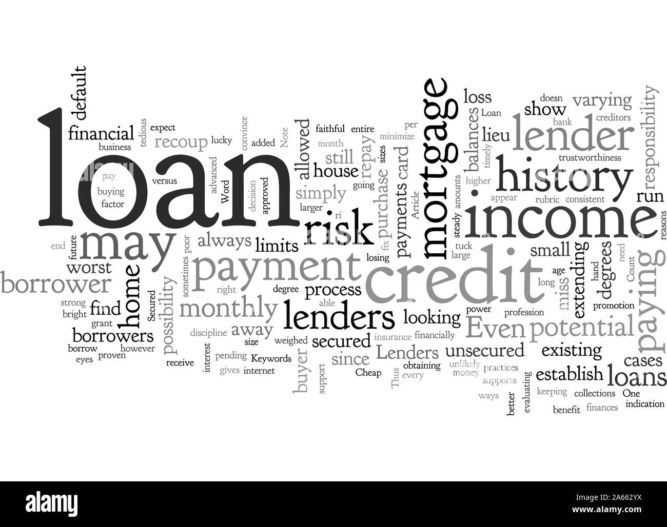 Cheap Loan Secured Stock Vector