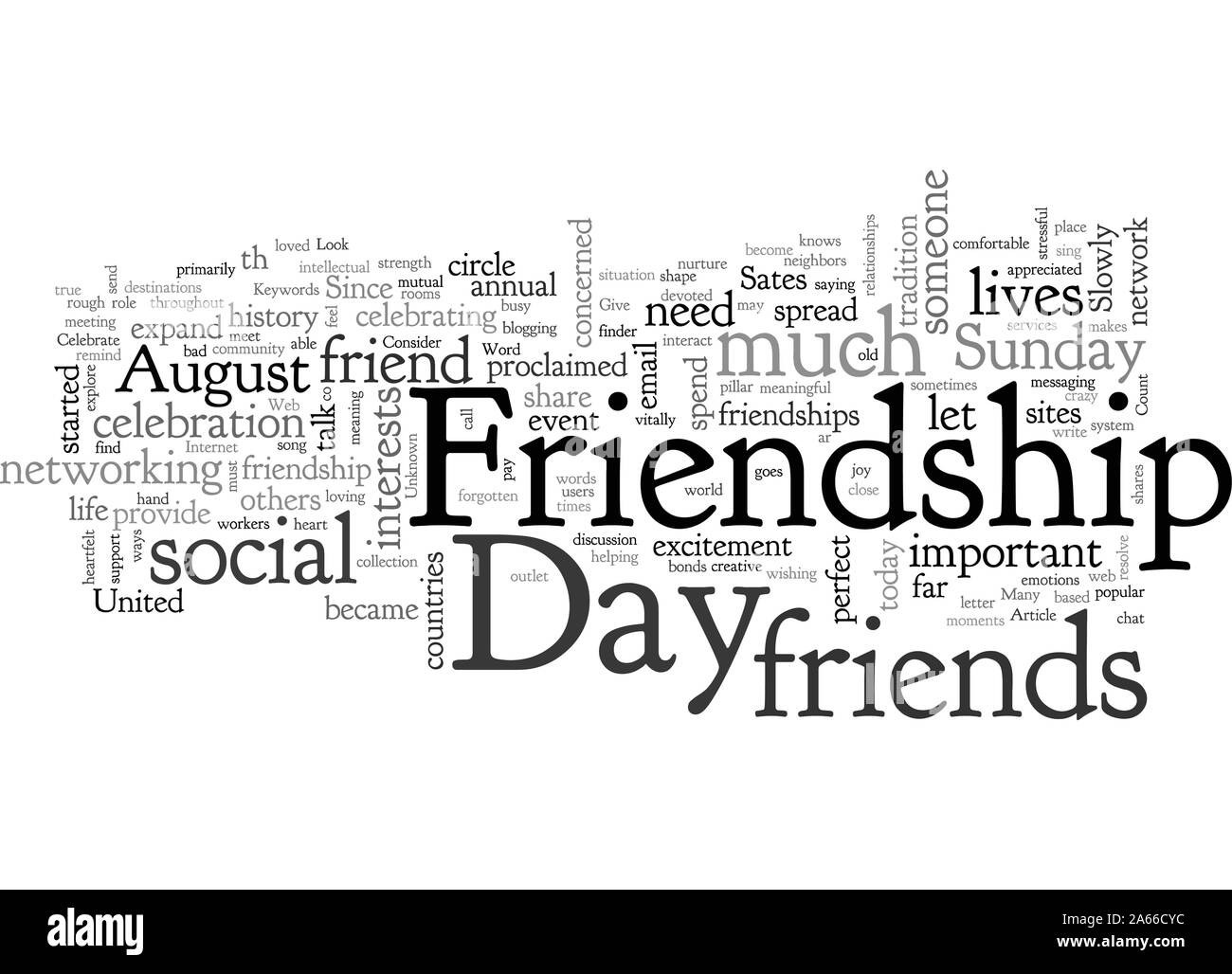 Celebrate Friendship Day Stock Vector