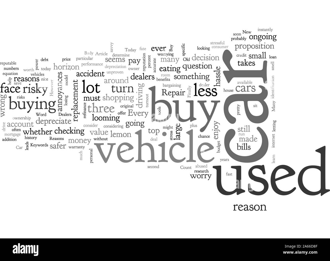 Buy A Used Car Reasons To Say In With The Old Stock Vector