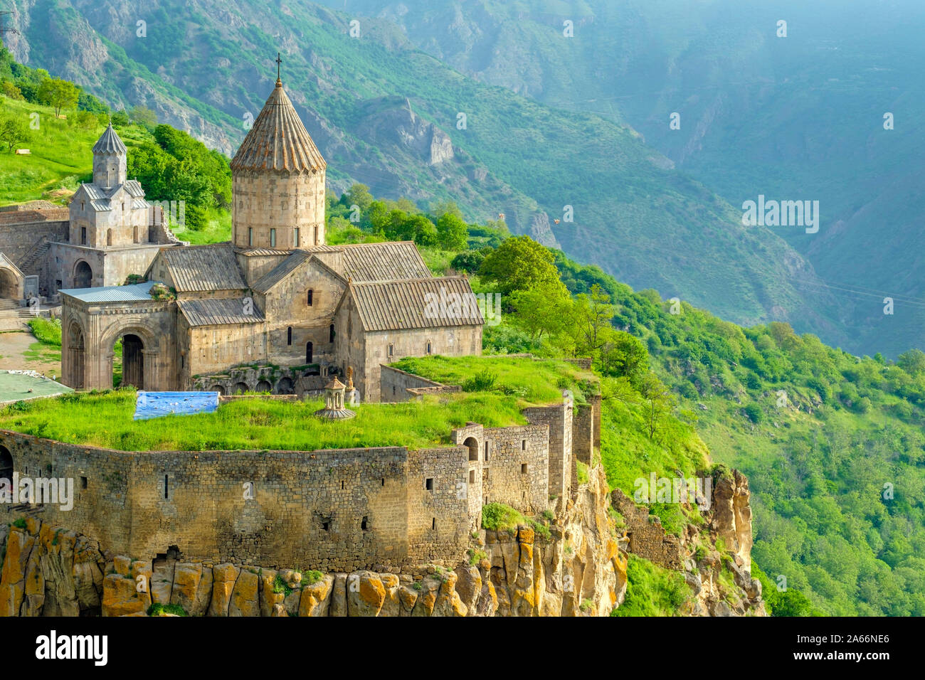 Tatev Monastery complex, Tatev, Syunik Province, Armenia Stock Photo
