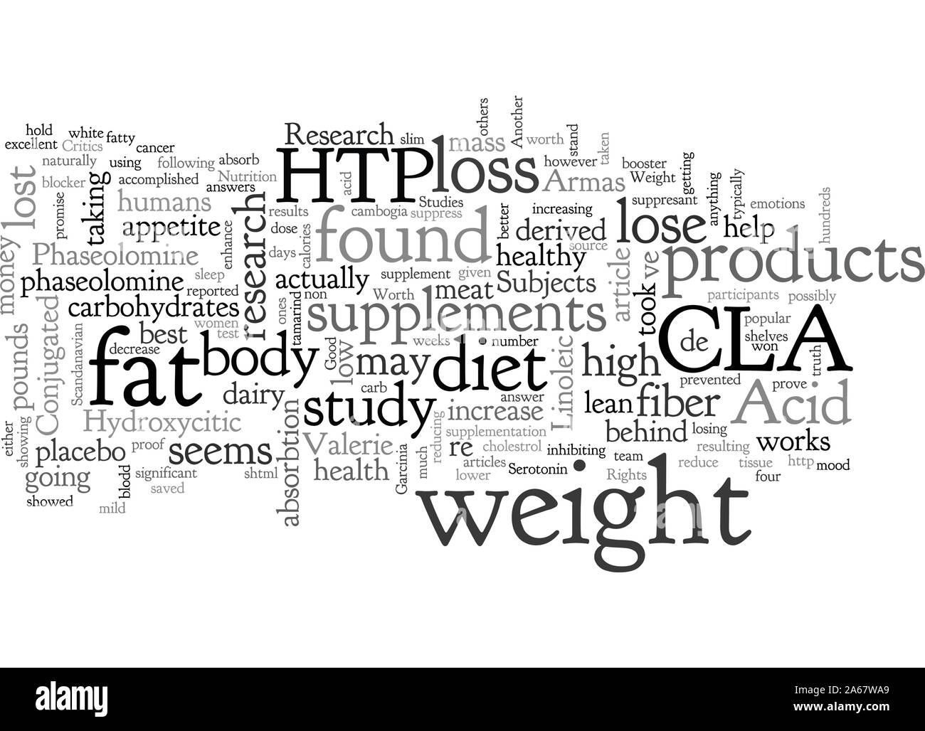 Are Weight Loss Supplements Worth It Stock Vector