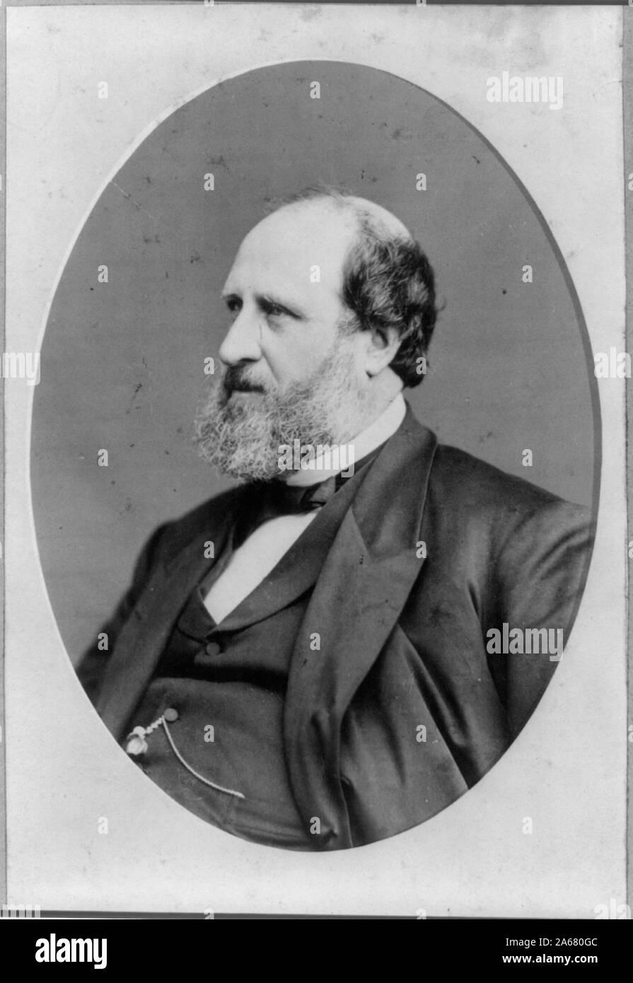 1871 ANTIQUE WOOD-CUT ENGRAVING TWEED TWEED WILLIAM M
