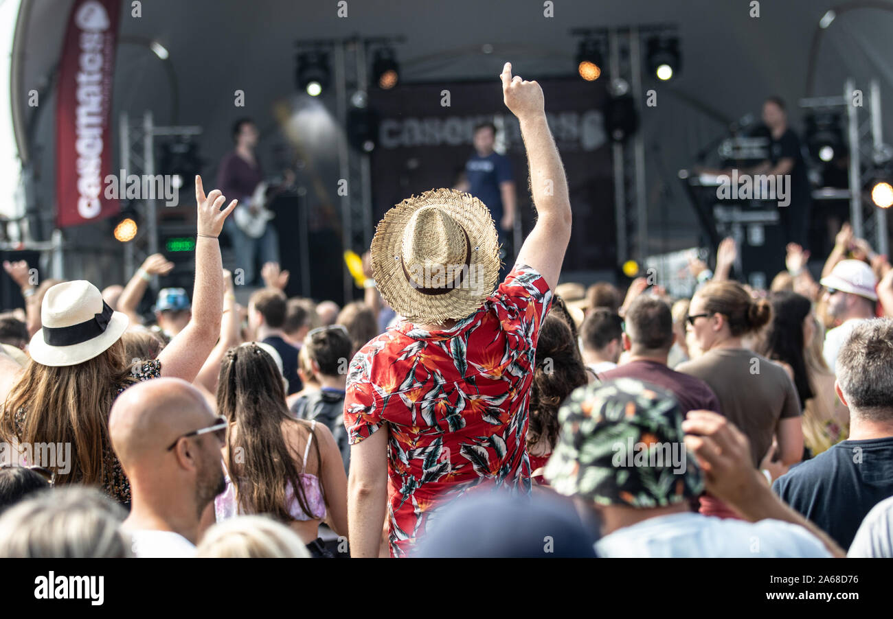 Victorious Festival, Southsea Common, Portsmouth, UK 2019. Credit: Charlie Raven/Alamy Stock Photo
